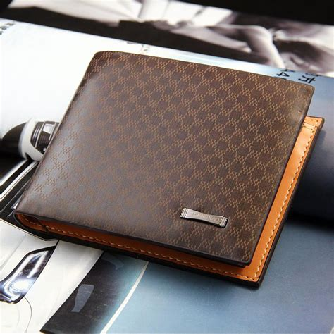 New Fashion Stylish Casual Mens Wallets Male Pu Leather
