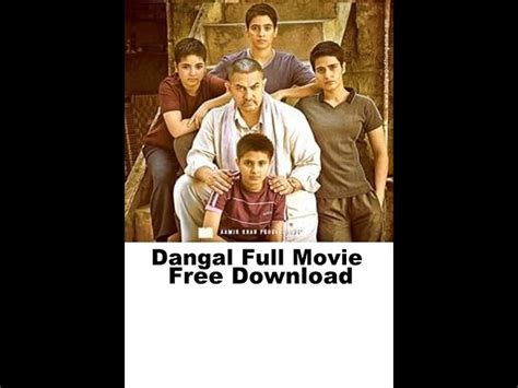 Dangal Full Movie Free Download Hd
