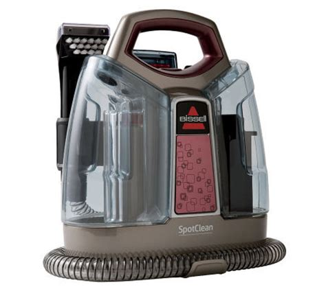 Bissell Spotclean Portable Carpet Upholstery Cleaner by Bissell Spotclean Portable Carpet Cleaner Qvc