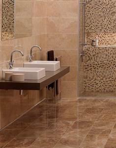 Carrelage Salle De Bain Sol : tourdissant carrelage salle de bain marbre et carrelage ~ Dailycaller-alerts.com Idées de Décoration
