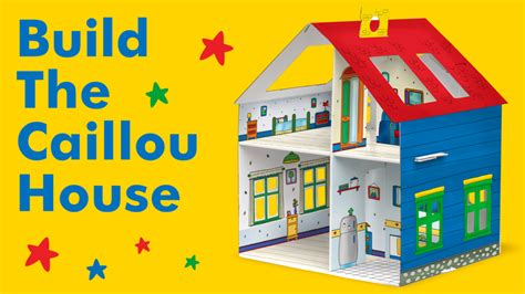 Learn To Build Caillou's Buildable House With An