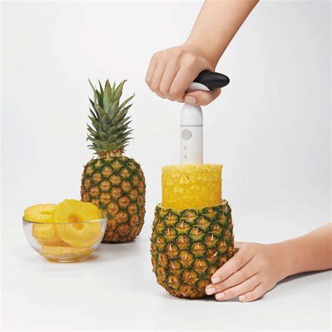 bathroom organization ideas ratcheting pineapple slicer oxo