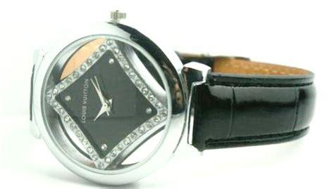 jam tangan pria swiss army rantai hitam list biru pocu shop louis viton