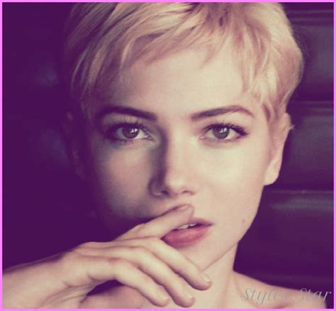Pixie Hairstyles For Faces by Pixie Haircuts For Faces Stylesstar
