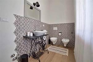 Déco Salle De Bains : carrelage design l inspiration g om trique pour la salle de bains design feria ~ Melissatoandfro.com Idées de Décoration