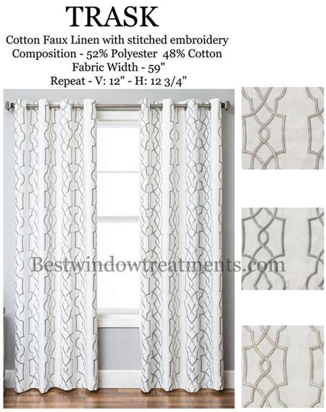 120 inch length blackout curtains trask heavy linen style curtains new