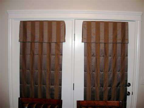Roman Shades For French Doors Decofurnish