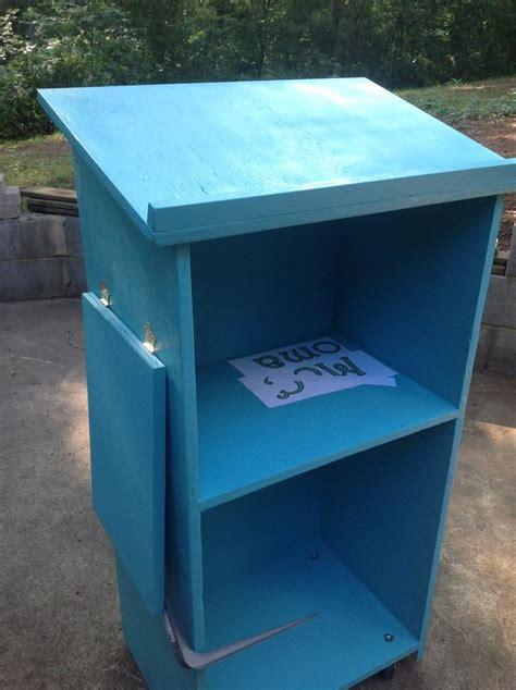 ana white   school podium diy projects