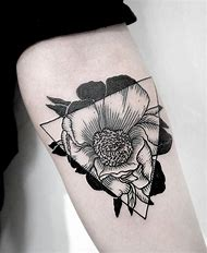 Best Black And White Flower Tattoos Ideas And Images On Bing