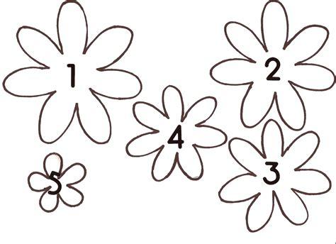 cricut flower template template flower template