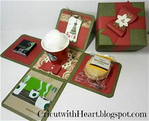Cricut with Heart Starbucks Lovers Gift Box