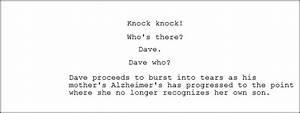 Knock Knockwhou002639s Theredavedave Whodave Proceeds To