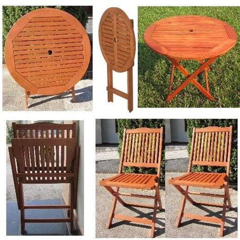 hardwood wooden folding garden patio table folding