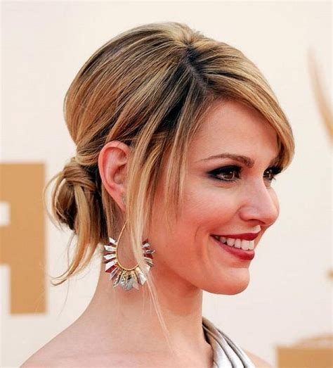 Dressy Updo Hairstyles by 15 Ideas Of Updo For Hair With Bangs
