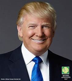 Donald J Trump President Official Portrait