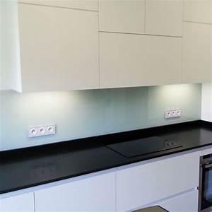 Pose Credence Verre : credence de cuisine en verre laque blanc perle ~ Premium-room.com Idées de Décoration