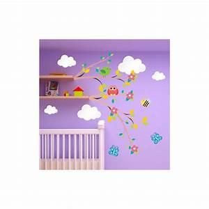 davausnet stickers chambre bebe nuage avec des idees With chambre bébé design avec livraison fleurs luxe