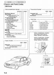 96 Acura 2 5 Engine Diagram
