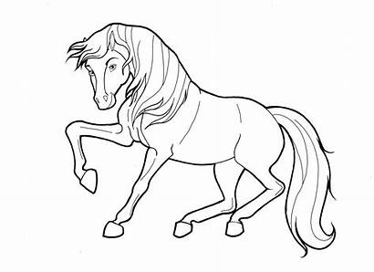 Coloring Pages Horse Farm Printable Getcolorings Mother