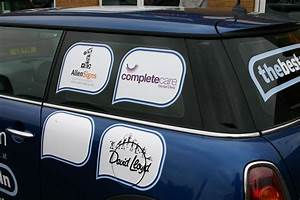 car window decals allen signs With auto window lettering