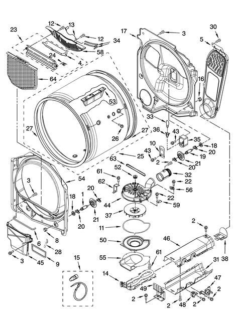 kenmore elite dryer parts model  sears
