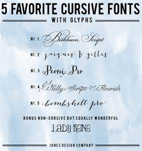 Cursive Font On Word