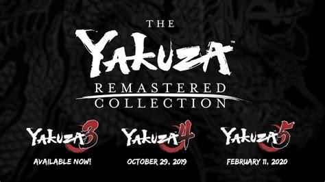 yakuza remastered collection il producer su contenuti