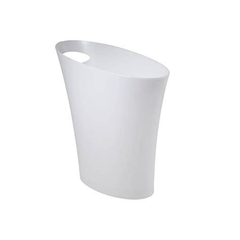 poubelle bureau design corbeille à papier poubelle de bureau blanche en vente