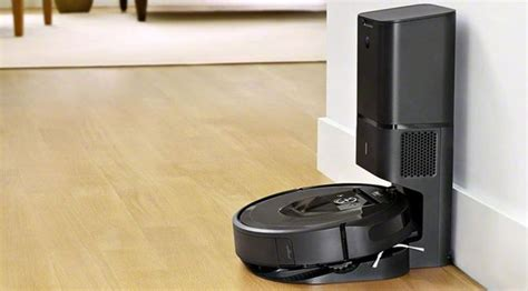 This Is Irobot Roomba I7+ It Vacuums And Disposes The