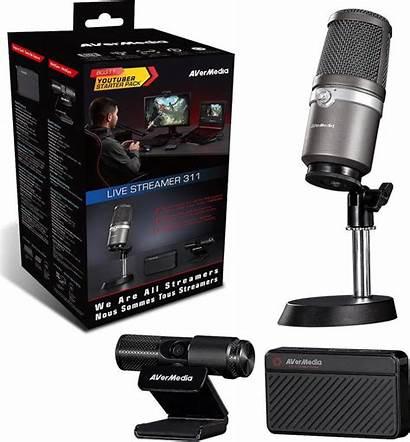 Streamer Avermedia Kit Youtuber Starter Distributor 1year
