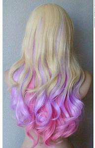 Ice Cream painted #pink and #purple | Sexy Hair Color ...
