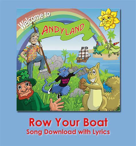 Row Row Row Your Boat Lyrics by Row Your Boat Song With Lyrics