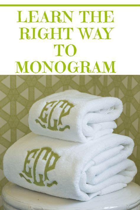 learn     monogram machine embroidery