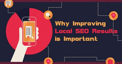 results seo why improving local seo results is important for a business