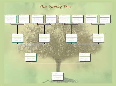 editable family tree   family tree template