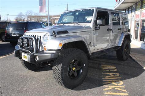 jeep wrangler 4 door silver 2013 jeep wrangler 4 door sahara billet silver american
