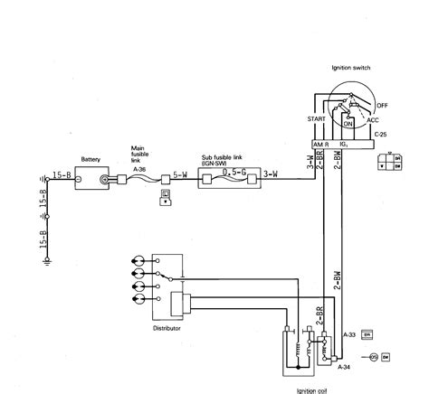 1987 Dodge Dakotum Wiring Diagram by I Need A Wiring Diagram For A 1987 Dodge Ram 50 Ignition Coil