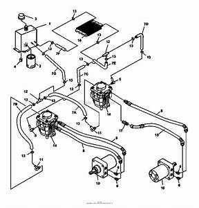 Bunton  Bobcat  Ryan 942241e Predator Pro 33hp Gen W  61 Sd Parts Diagram For Hydraulics