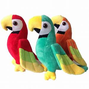 Online Buy Wholesale stuffed parrot toy from China stuffed