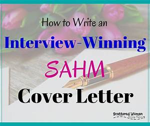 How To Write An Interview Winning SAHM Cover Letter Basic Cover Letter For A Resume Obfuscata What Do You Put In A Cover Letter Career Cover Letter On Behance