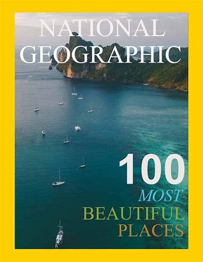 Geographic National Magazine Covers Template Own Create