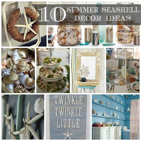 ideas  seashell decorations  pinterest