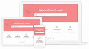 Create Operations Manual With 100  Free Templates