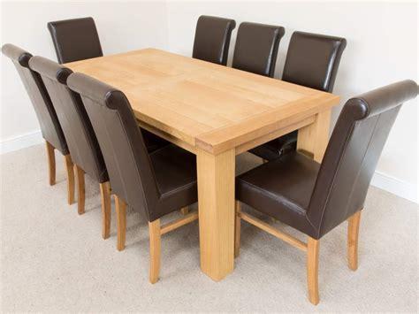 oak dining tables and chairs marceladick
