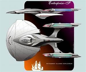 Starship concept for CBS/Cryptic Studios Star Trek Online ...