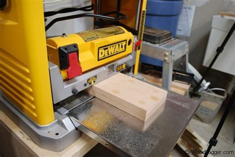 Dewalt DW734 Planer   Review WoodLogger
