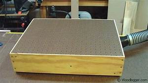 Benchtop Sanding Table  Or Down Draft Table Is Used To Remove Dust While Sanding Projects  It Is