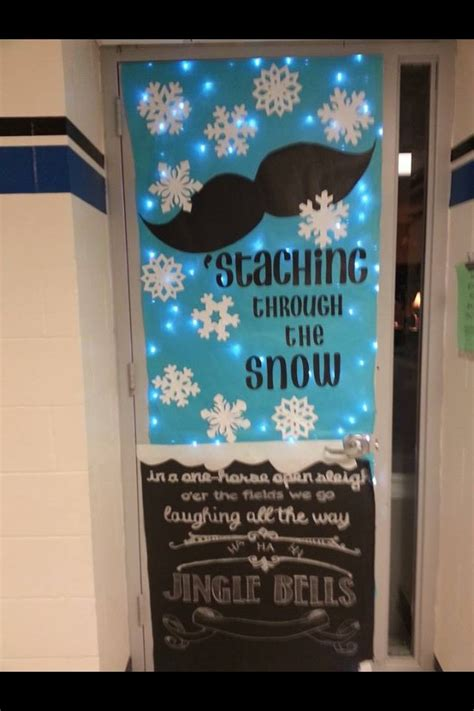 winter classroom door decorations 1000 ideas about door decorations on