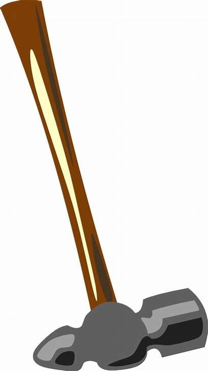 Hammer Blacksmith Tools Clip Clipart Tool Ball