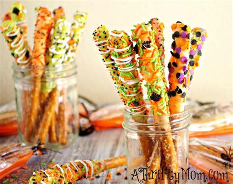 treats for adults gourmet halloween pretzel rods